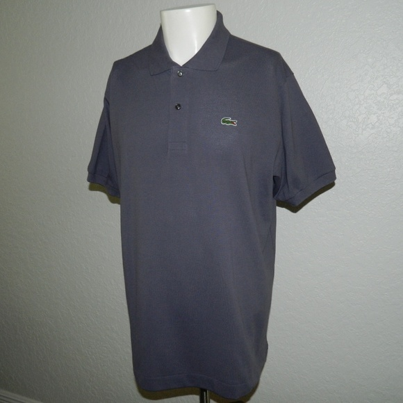 8b5106afb NEW Lacoste Deep Purple Polo Shirt sz L  89.50. NWT